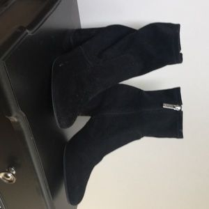Unisa Black Ankle Boots